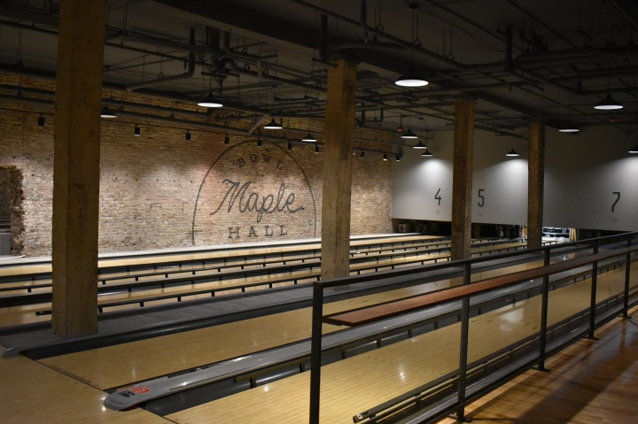 BOWLING AT MAPLE HALL