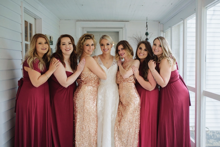 GETTING READY & BRIDESMAID PHOTOS