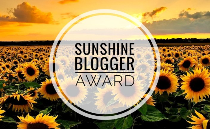 I WAS NOMINATED FOR THE SUNSHINE BLOGGER AWARD