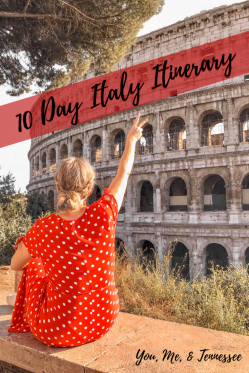 10 day italy itinerary